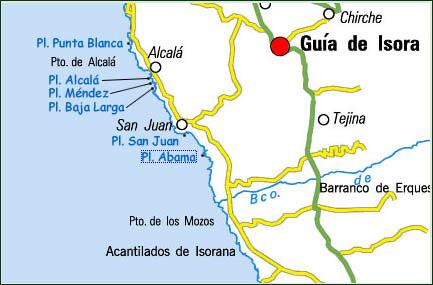 Playas de guia de isora tenerife islas canarias - Guia de tenerife pdf ...